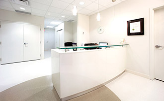 Operating Room Reception Area